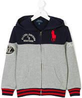 Ralph Lauren embroidered hooded jacket