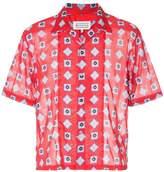 Maison Margiela geometric-print shirt