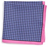 Ted Baker Manistee Neat Medallion Silk Pocket Square