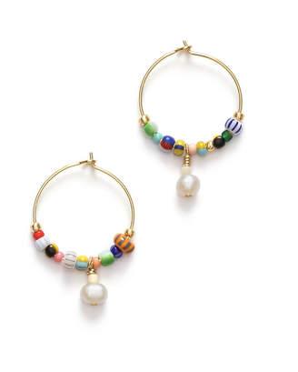 Anni Lu Women's Pearly Alaia Earrings - Multi