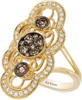 LeVian Le Vian Chocolatier® Chocolate Deco EstateTM Gold Diamond (7/8 ct. t.w.) Ring in 14k Gold