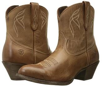 Ariat Darlin (Burnt Sugar) Cowboy Boots
