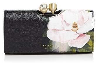 Ted Baker Paisla Opal Crystal Bobble Medium Leather Matinee Wallet