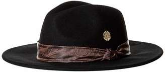 Vince Camuto Women's Paisley Scarf Band Panama Hat