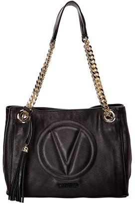Valentino By Mario Valentino Luisa2 Sauvage Leather Shoulder Bag