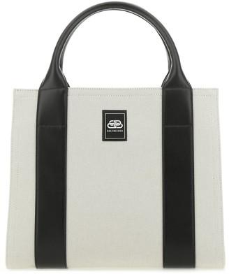 Balenciaga Logo Tote Bag