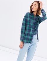 All About Eve Granite Long Sleeve Shirt