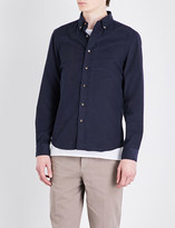 Brunello Cucinelli Leisure-fit button-down cord shirt