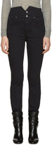 Etoile Isabel Marant Black High-rise Earley Jeans