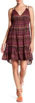 Jessica Simpson Kisha Sleeveless Geo Stripe Dress