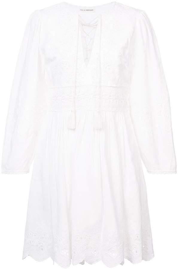 Ulla Johnson scalloped hem dress
