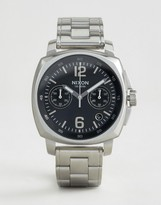 Nixon Charger Chronograph Watch In Stainless Steel