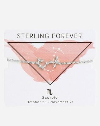 Express Sterling Forever Silver Scorpio Bolo Bracelet