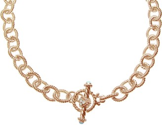 Judith Ripka 5th Avenue 14K Rose Gold-Clad Chain Necklace