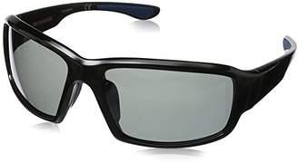 Foster Grant Men's Adrift Polarized 10229243.COM Polarized Rectangular Sunglasses