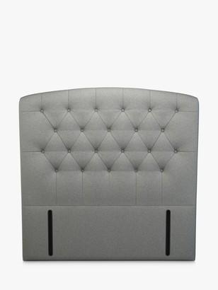 John Lewis & Partners Rouen Full Depth Upholstered Headboard, Double