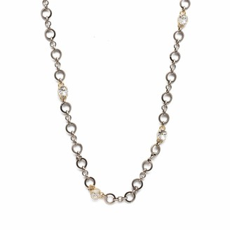 Sorrelli Hadley Long Strand Necklace Mixed Metal Finish