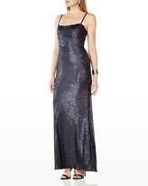 BCBGMAXAZRIA Sequin Gown