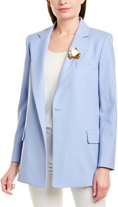 Oscar de la Renta Wool-Blend Jacket