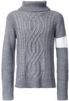 GUILD PRIME cable knit jumper