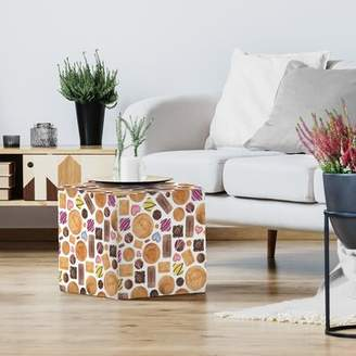 O'Neill East Urban Home Elena Sweets And Biscuits Standard Ottoman East Urban Home
