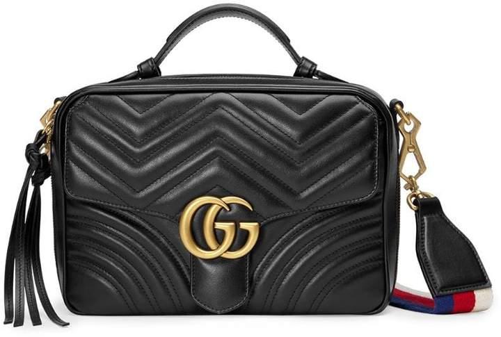 13b34571a936 Gucci GG Marmont matelassé shoulder bag - ShopStyle