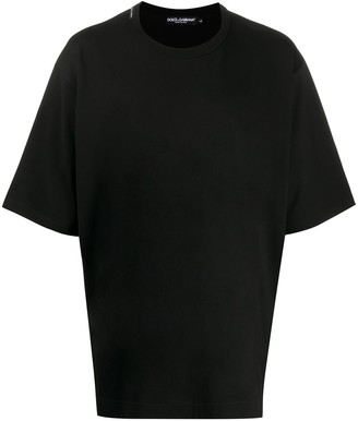 Dolce & Gabbana oversized logo print T-shirt