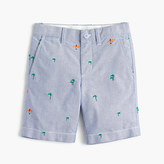 J.Crew Boys' critter oxford short in surfers