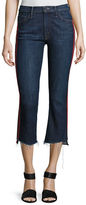 Mother Insider Crop Jeans w/ Step Fray