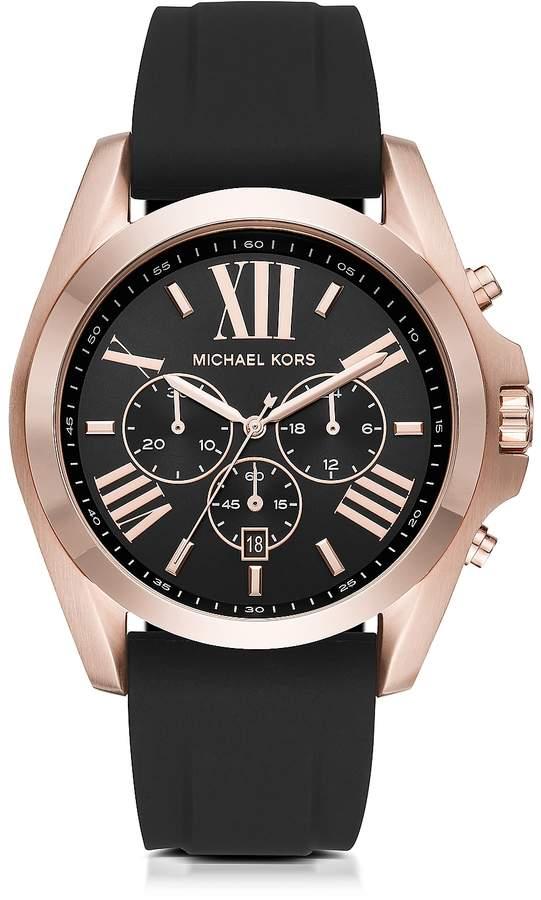 Michael Kors Bradshaw Rose Goldtone Stainless Steel Men's Chronograph Watch