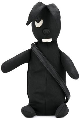 Rick Owens Bunny clutch bag