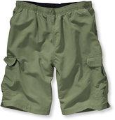 "L.L. Bean Supplex Cargo Sport Shorts, 10"" Inseam"