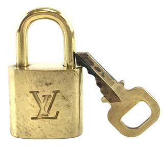 Louis Vuitton Cadenas Gold Metal Bag charms