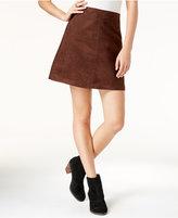 Sanctuary Faux-Suede Mod Mini Skirt
