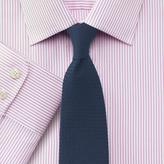 Charles Tyrwhitt Extra slim fit Bedford raised stripe pink shirt