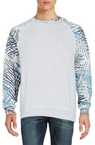 Eleven Paris Abstract Sleeve Pullover