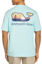 Vineyard Vines Paddle Board Whale Pocket Tee