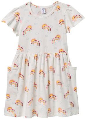 Harper Canyon Pocket T-Shirt Dress (Toddler, Little Girls & Big Girls)