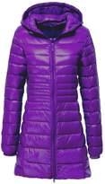 HengJia Women's Hooded Packable Down Puffer Coat Lightweight Down Winter Jacket Large