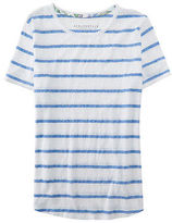 Aeropostale Womens Prince & Fox Striped Surf Tee Shirt