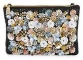 Steve Madden Floral Zip Clutch