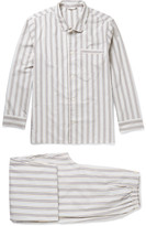 Schiesser - Alfred Striped Cotton Pyjama Set