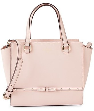 Kate Spade Winged Leather Satchel