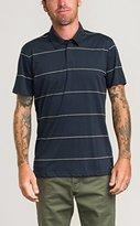 RVCA Men's Sure Thing Stripe Polo Shirt