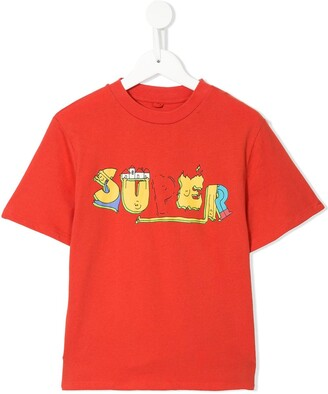 Stella McCartney Kids Super print T-shirt