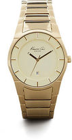 Kenneth Cole Gold Stainless Steel Watch
