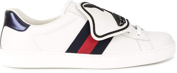 Gucci Ace sneaker with shark removable patches
