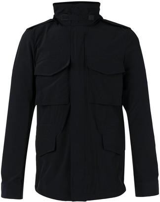 Aspesi Multi-Pocket Funnel-Neck Jacket