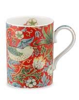 Portmeirion Strawberry Thief Mug Crimson & Slate