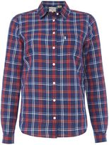Levi's Long Sleeve shirt in Cittern Medieval Blue Plaid